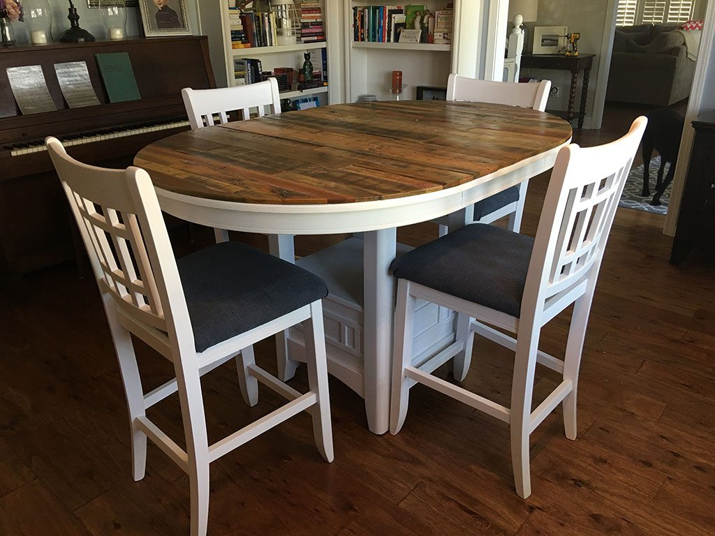 Oval Table – First Hand Custom Woodworks